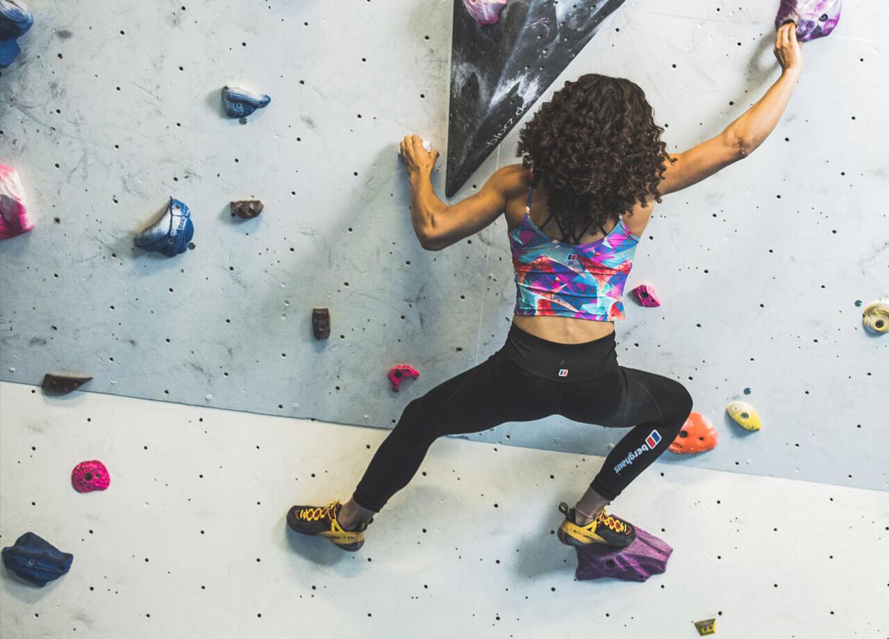 Lead Climber Molly Thompson-Smith